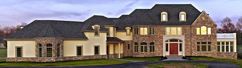 New residential custom homes edw builders building for New home construction south jersey